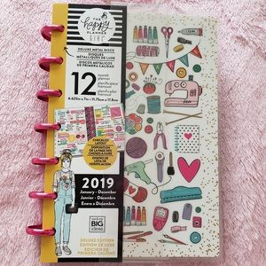 Happy planner miss maker mini